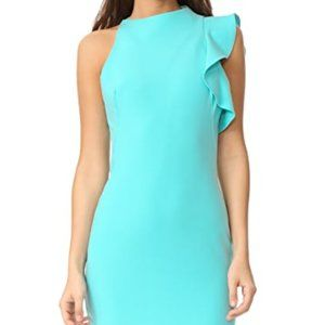 "NWT Black Halo ""Pabla"" Mini Dress sz 10 in Aqua"